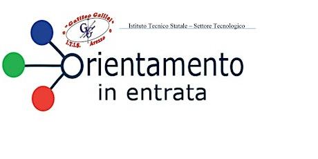 Orientamento Virtuale - ITIS Galileo Galilei di Arezzo - primo incontro biglietti