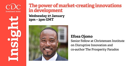 The power of market-creating innovations in development tickets