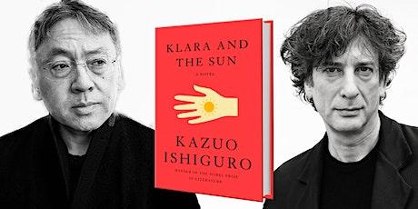 Nobel Laureate Kazuo Ishiguro | Klara and the Sun tickets