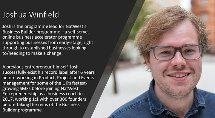 60-second pitch with NatWest Business Builder image