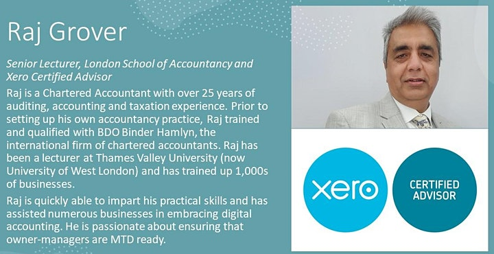 Digital Accounting! Masterclass for SMEs image
