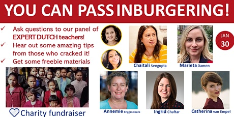 How to crack Inburgering Exams : kick start your journey with our Experts! tickets