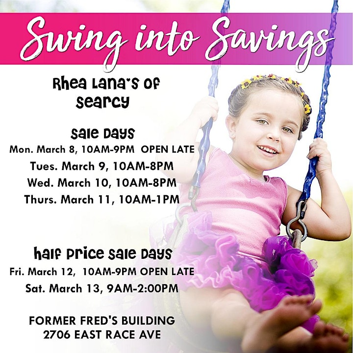 Rhea Lana's of Searcy Spring & Summer Children's Consignment Sale image