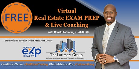FREE Virtual Real Estate Coaching & Exam Prep tickets