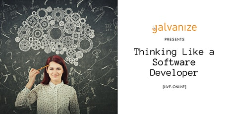 Thinking Like a Software Developer [LIVE-ONLINE] tickets
