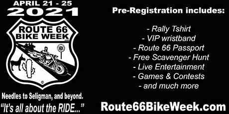ROUTE 66 BIKE WEEK - Spring Rally - Arizona Route 66 tickets