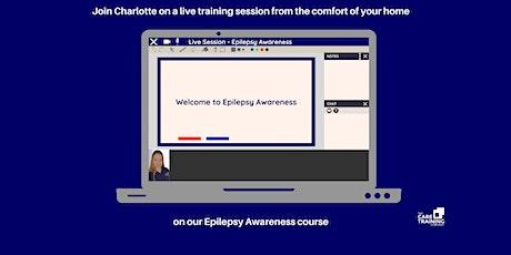 Epilepsy Awareness (virtual training) tickets