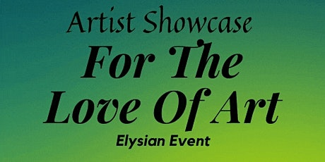 For The Love of Art tickets