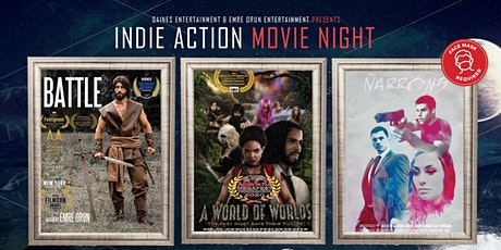 Indie Action Movie Night  - Watch A Few Shorts And Win A Prize! tickets