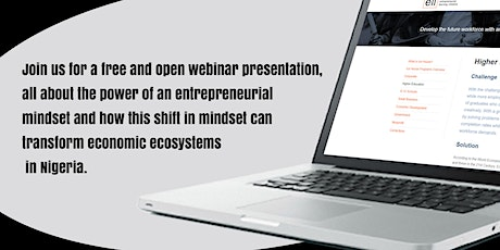 The Enterpreneur Mindset, Transforming Nigeria's Economic Ecosystems tickets