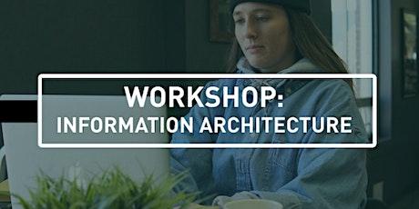 UX Design Workshop: Information Architecture tickets
