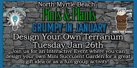 Pints & Plants Jan Grumpy North tickets