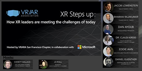 XR Steps Up: The Future of Learning and Collaboration tickets