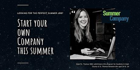 Summer Company - Information Session biglietti