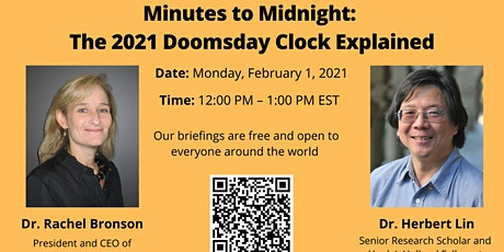 Minutes to Midnight: The 2021 Doomsday Clock Explained tickets