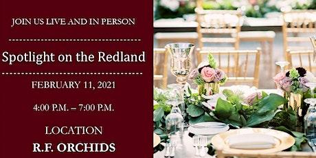 Spotlight on the Redland - Venue Ordinances, Live Production Grants tickets