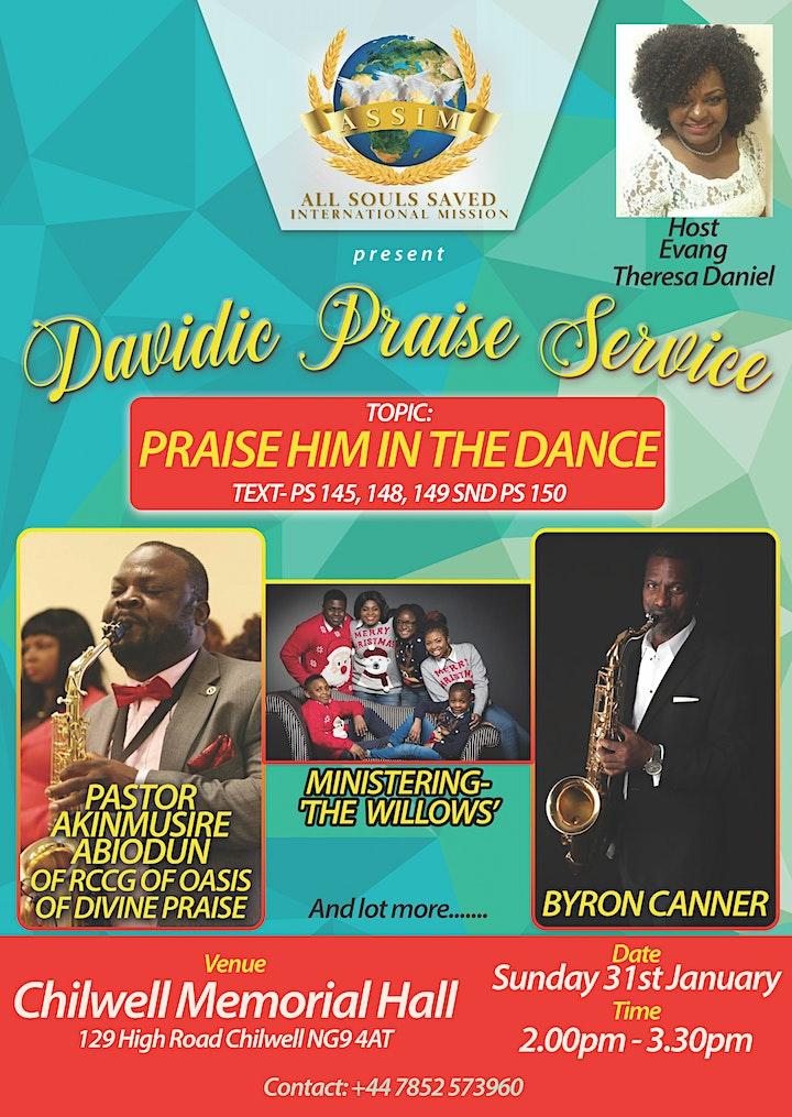 DAVIDIC PRAISE SERVICE image