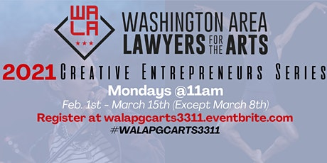 WALA Creative Entrepreneurs Series: Tax Strategies tickets