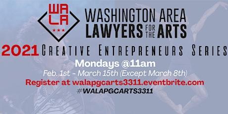 WALA Creative Entrepreneurs Series: Negotiation Strategies tickets