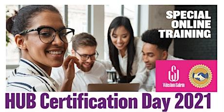 The City of Winston-Salem HUB Certification Day 2021 tickets