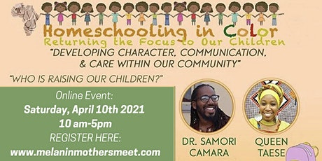 Homeschooling in Color: Returning the Focus to Our Children tickets