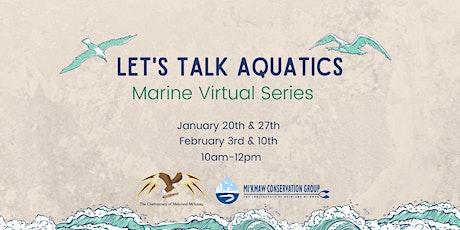 Let's Talk Aquatics tickets
