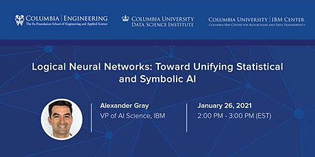Special Seminar: Alexander Gray, VP of AI Science, IBM tickets