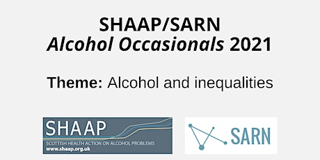 Alcohol Occasionals - Managed alcohol programmes (MAPs) tickets