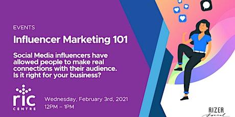 Influencer Marketing 101 tickets