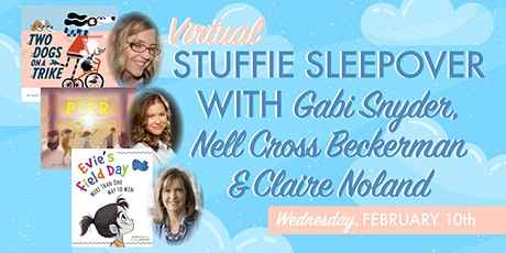 Stuffie Sleepover with Gabi Snyder, Nell Cross Beckerman, and Claire Noland tickets