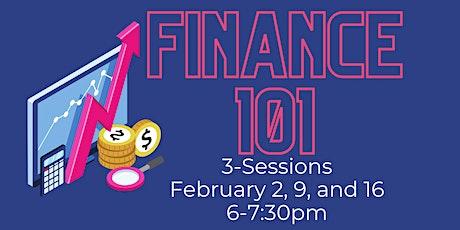 Finances 101 tickets