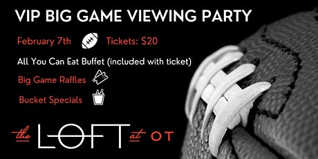 VIP Big Game Viewing Party tickets