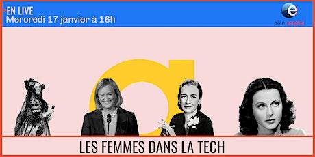 Exposition : Les femmes dans l'informatique x Pôle Emploi billets
