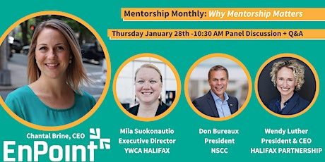 Mentorship Monthly - Why Mentorship Matters tickets