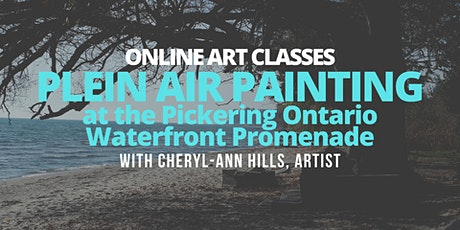 Learn to Paint - Plein Air Painting in Pickering Ontario tickets