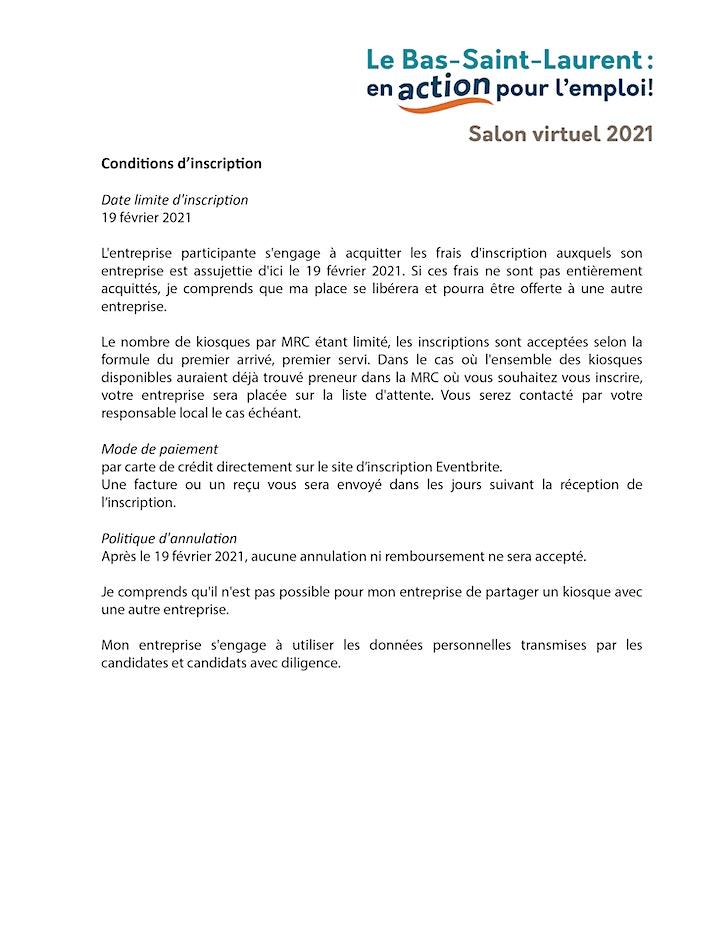 Image de Salon virtuel de l'emploi 2021