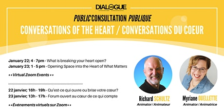 Conversations of the heart / Conversations du coeur tickets