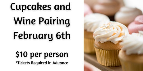 Cupcakes and Wine Pairing-GETTYSBURG tickets