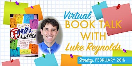 Book Talk with Luke Reynolds tickets