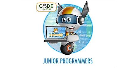 Junior Programming - Virtual Camp: 4/12 - 4/16 - 9am-12pm (PST) tickets