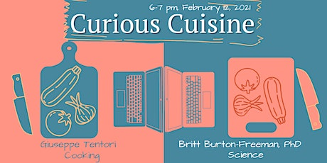 Curious Cuisine: Cooking with Giuseppe Tentori tickets