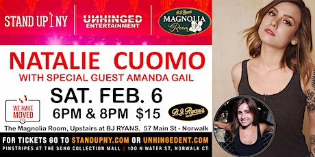 Unhinged Comedy presents: Natalie Cuomo tickets
