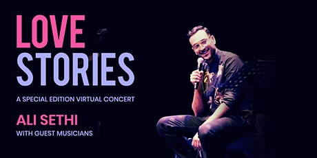 Love Stories - A Special Edition Virtual Concert by Ali Sethi tickets