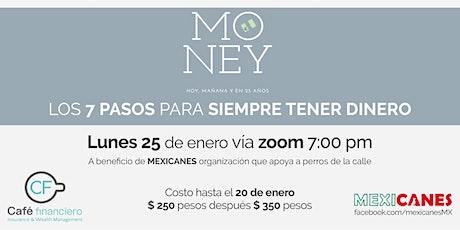 Taller Money:  hoy, mañana y en 25 años entradas