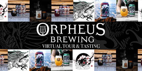 Orpheus Brewing Co: Virtual Tour and Tasting tickets