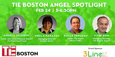 TiE Boston Angel Investor Spotlight tickets