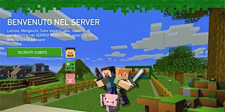 Corso Minecraft Server BASE - Lezioni Live biglietti
