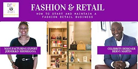 Fashion & Retail  Virtual Panel Discussion tickets