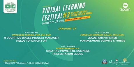 Virtual Learning Festival #3 - Be Ready for 2021: Seizing The New Normal tickets