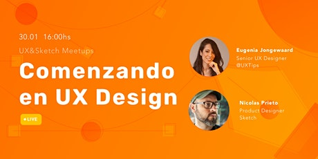 Comenzando en UX Design boletos